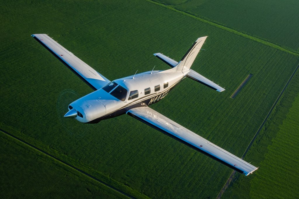 turboprop aircraft financing plane over field